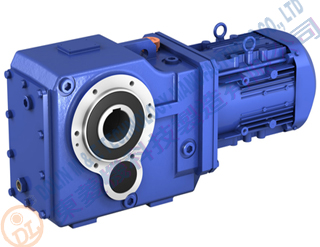 Bevel Helical Geared Motor 3.7kw ratio 100:1