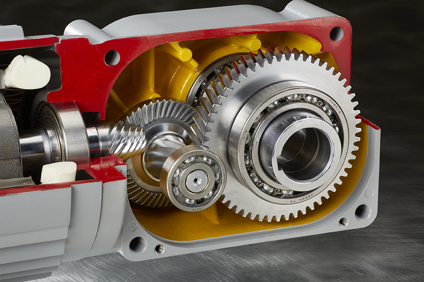 How a Gear Motor Works