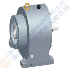 Horizontal double shaft motor gear motor