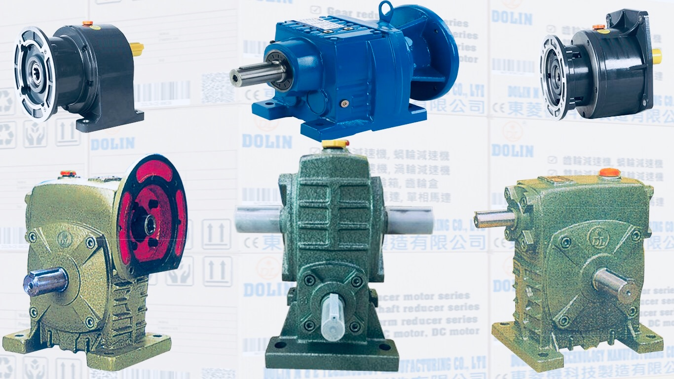 Horizontal high gear reducer motor
